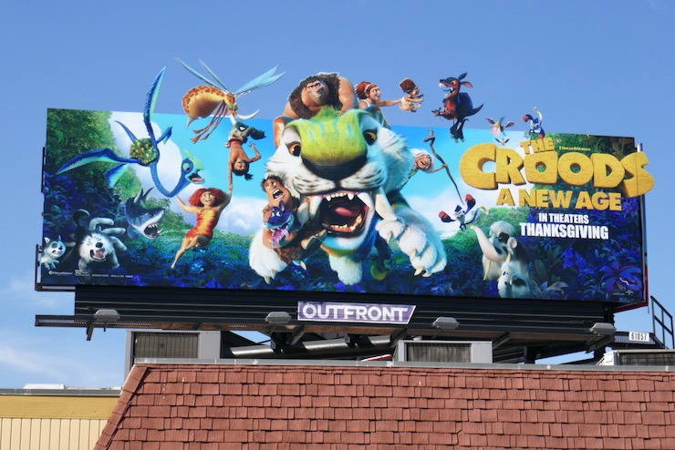 Croods A New Age extension billboard