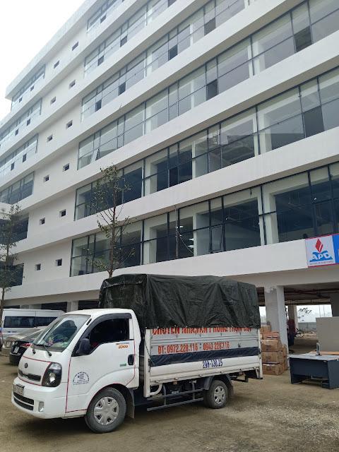 Công ty vận tải chất lượng hàng đầu tại HN