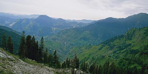पिथौरागढ़ की पहाड़ियाँ