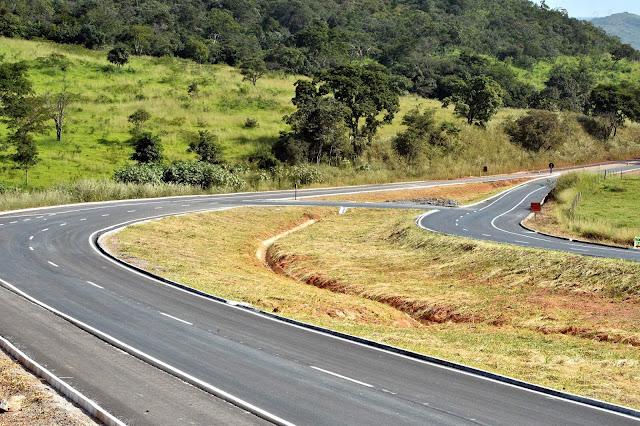 Rodovia BR-080/GO tem mais 8 km de pista remodelada