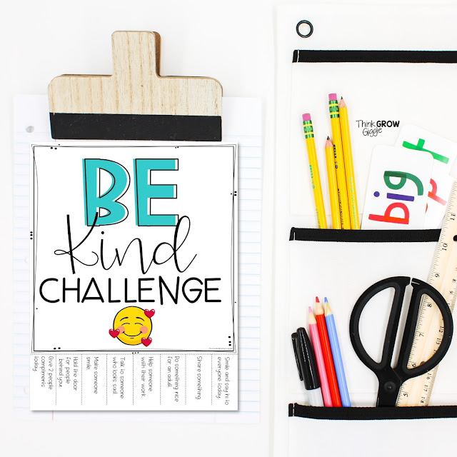 kindness challenge activities for kids