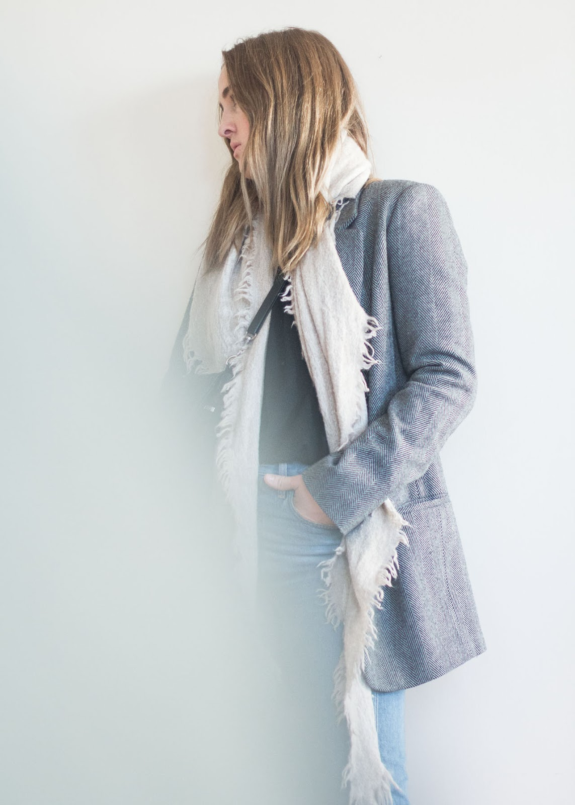 Winter favorites - Outfit - Vancouver Fashion Blog - Zara blazer - Agolde jeans