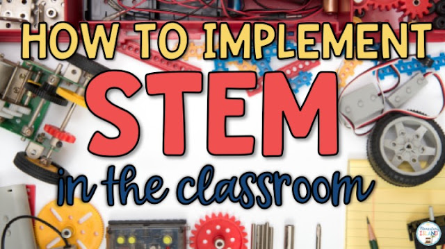 STEM Activities for elementary students is becoming increasingly popular.  This is partly due to team building concepts that have students working together.  STEM does not have to be difficult!  Easy, quick challenges is what it's all about and I have went over ways to get you started!  I have also provided some free materials to help you get started.  Perfect for 1st, 2nd, 3rd, and 4th grades because of the differentiation provided.  #stemactivities #howtoimplementstem #stemactivitieselementary