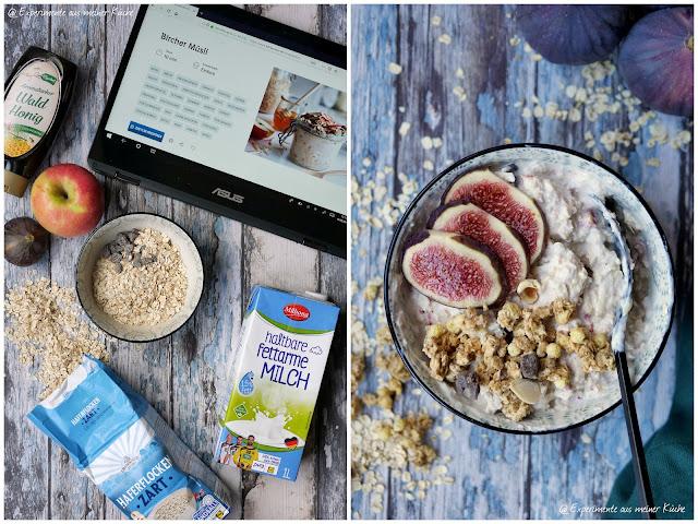 Bircher Müsli mit Feige   Rezept    Essen   Frühstück