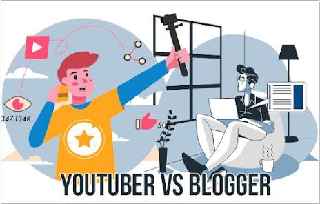 Perbandingan Penghasilan Blogger VS Youtuber,  Manakah Yang Paling Besar?