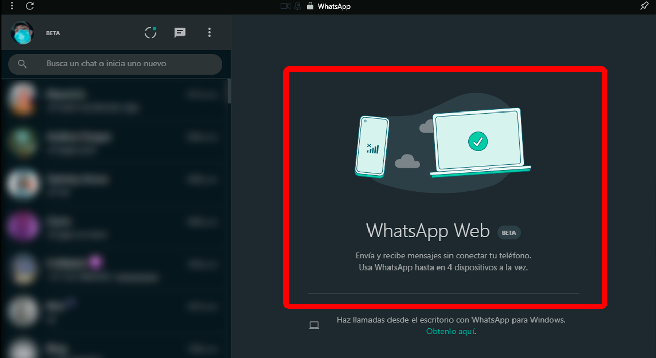como usar WhatsApp sin tener internet