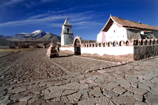 Village of Isluga, northern Chile.