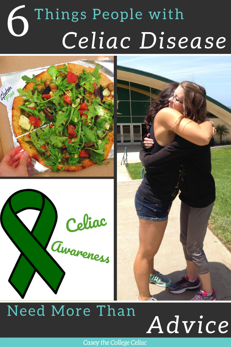 6 Things People with Celiac Disease Need More Than Advice