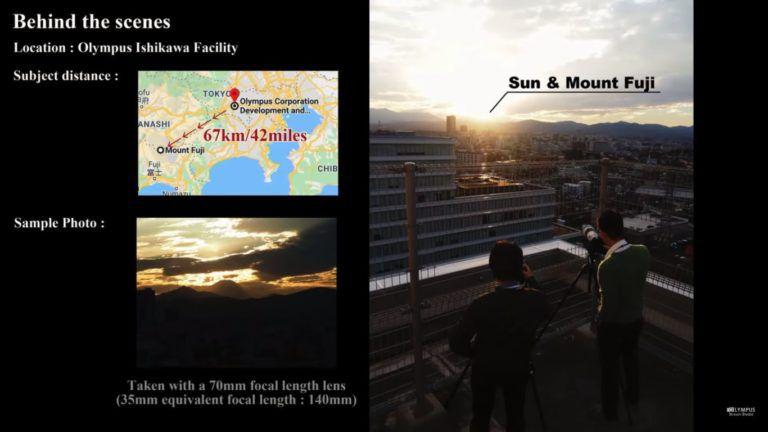 Схема расположения фотографа и объекта съемки
