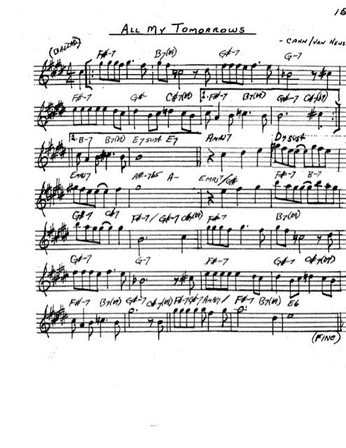 Partitura Saxofón