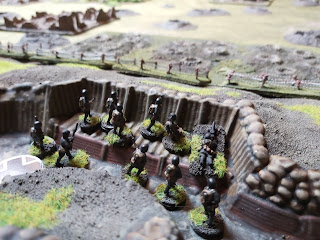 A Lewis section gets ready for the attack