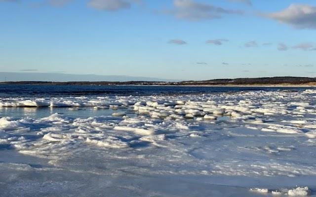 VIRAL VIDEO: Παραλία γίνεται… παγοδρόμιο στη Σουηδία