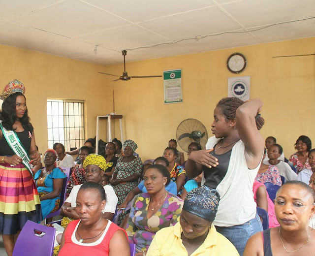 Mrs Tourism UN Educates women on breast cancer, shares kits in ikota village