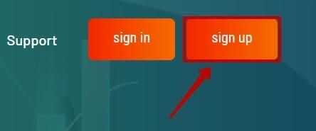 Регистрация в Glow Trade