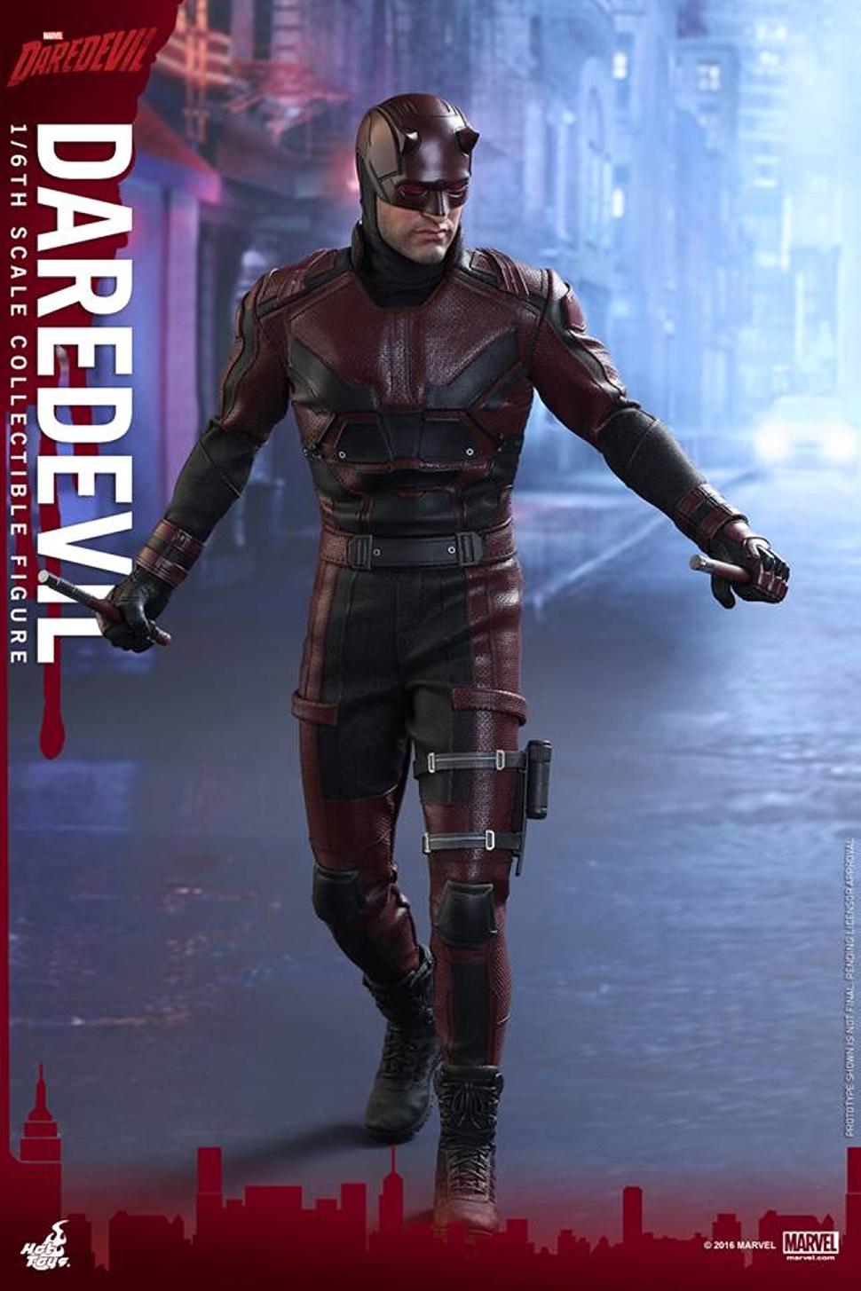 Hot Toys《夜魔俠》Marvel's Daredevil 系列「夜魔俠」Daredevil 1/6 人偶正式登場! - Toys Zone D 玩具兄弟 -Figures Price List ...