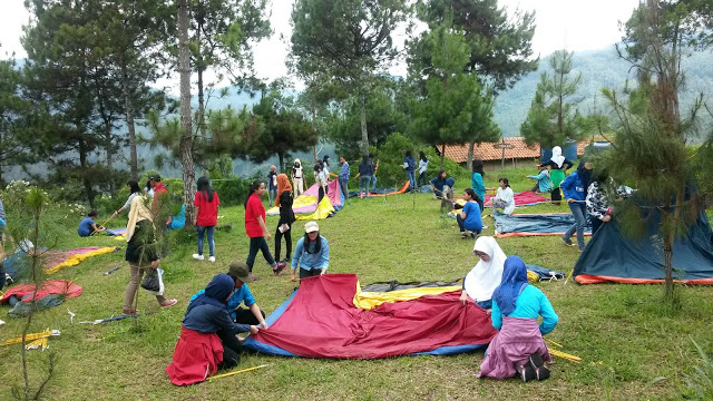 Camping di Cibodas Lembang - Zona Adventure Outbound