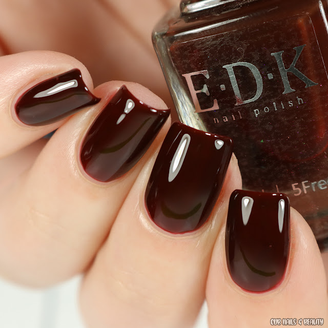 EDK Nail Polish-Coffee Jelly