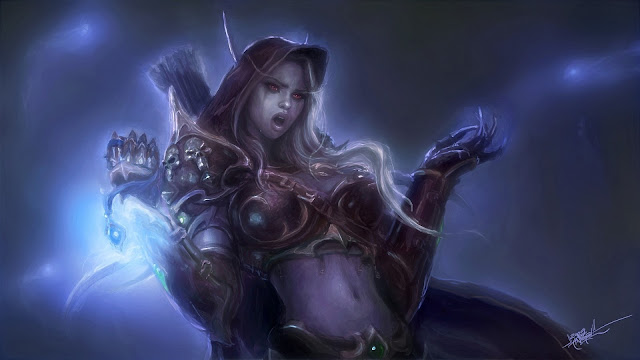 lady sylvanas windrunner wallpaper 2