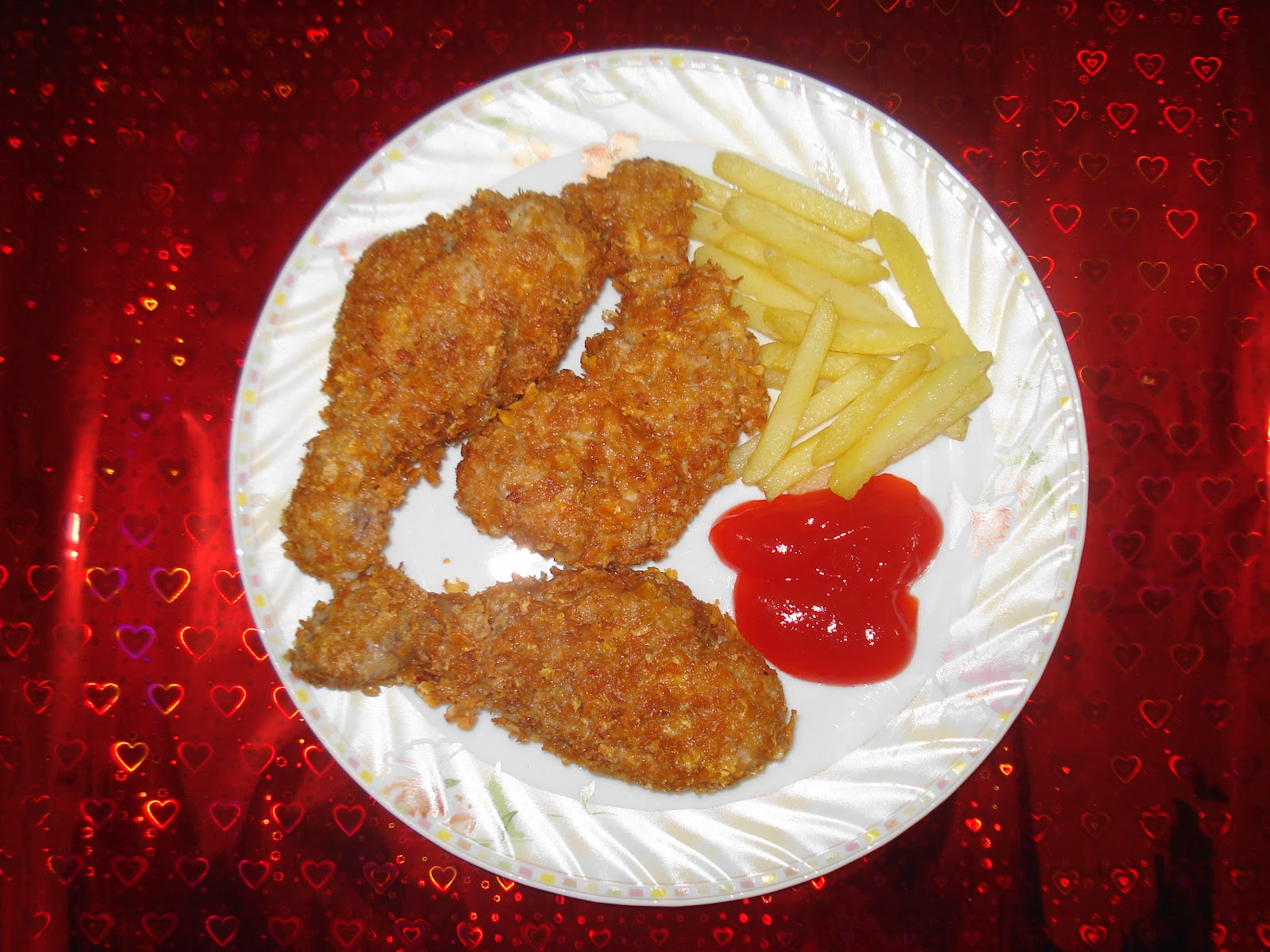 Cuisine of karachi kfc chicken at home corn flakes are used to give texture like kfc chicken when using skinless chicken pieces i used skinless chicken in my recipe forumfinder Image collections