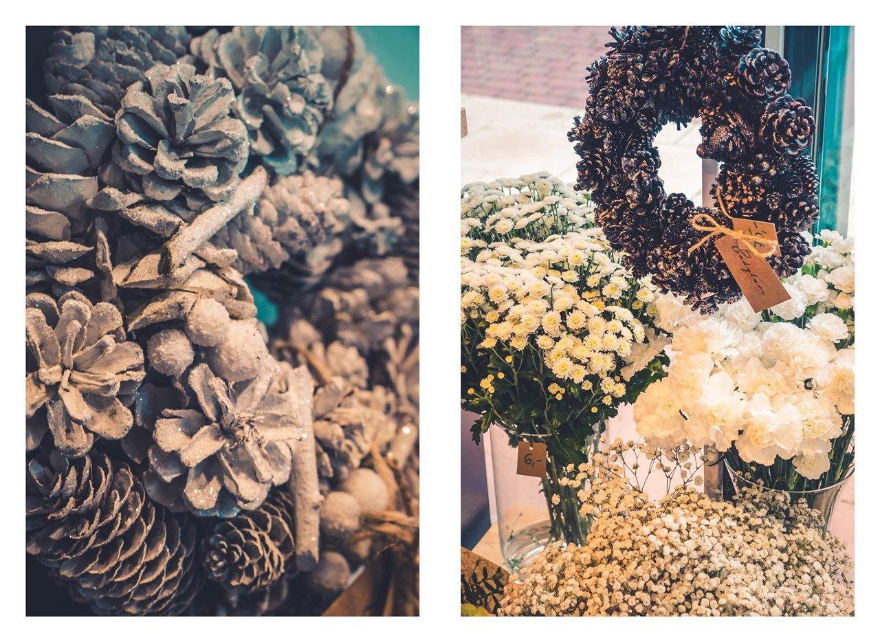 19A badylarz kwiaty cięte w euforii najpiękniejsze kwiaty najlepsza kwiaciarnia w łodzi co kupić w łodzi manufaktura gdzie iść w łodzi co robić w łodzi zdjęcia blog łódzki blogerzy święta świąteczne stroi