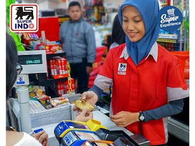 loker part time kasir di super indo bandung lulusan sma smk fresh graduate