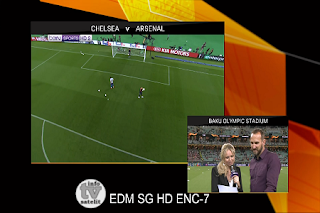 UEFA Europa League AsiaSat 5 Biss Key 30 May 2019