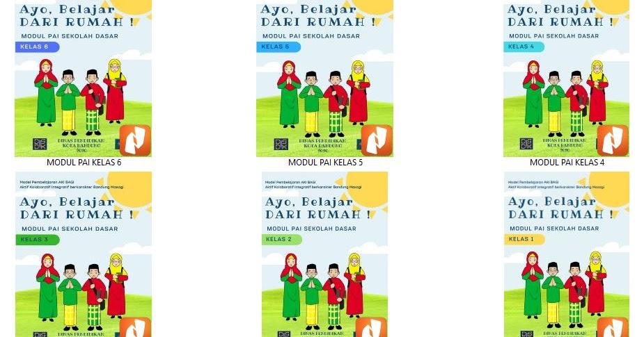 Modul Pembelajaran Belajardarirumah Mapel Pai Kelas 1 2 3 4 5 6 Sekolahdasar Net