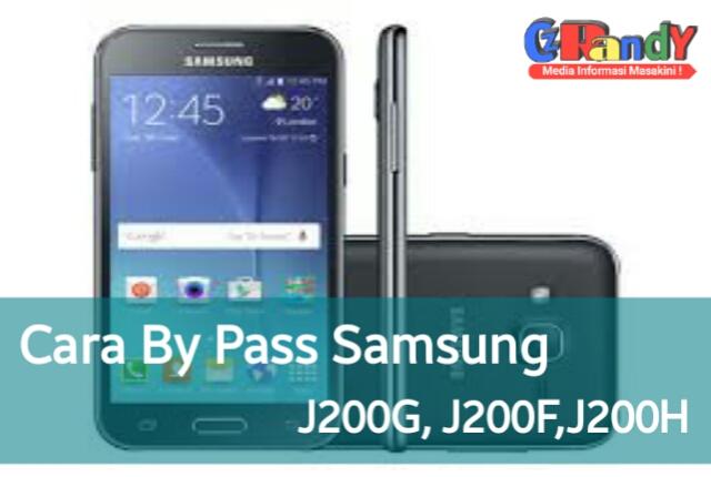 Cara By Pass Samsung Galaxy J2 Series