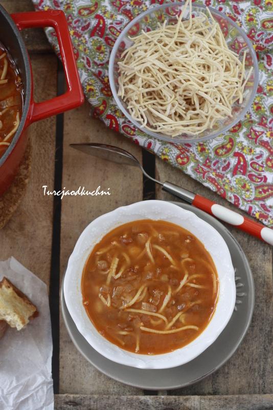 Zupa z zielonej soczewicy / Hanım Ağa çorbası