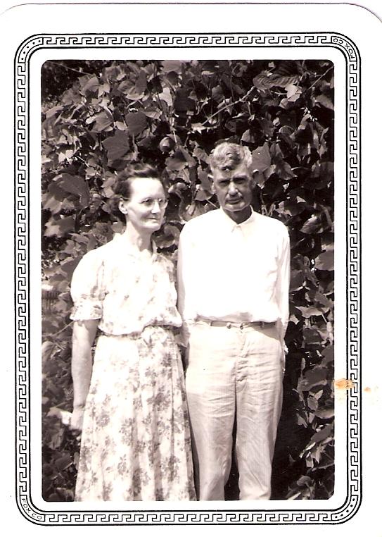 Old Mill Gm >> Hubbard/David Family Pictures: Elva Elizabeth David and James Louis David