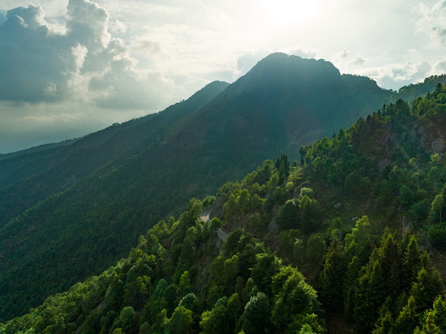 Panoramica Zegna foto drone