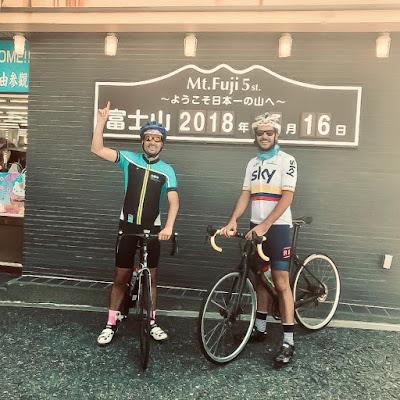 Mt.Fuji Hill Climb carbon road bike rental Hokuroku Park Tokyo Cycling Japan