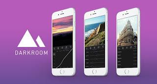 تطبيق darkroom لمعالجه الصور للايفون اخر اصدار 2017