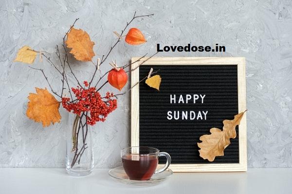 sunday good morning message