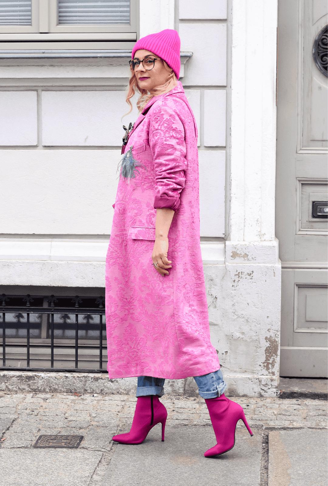 Pink-kombinieren-Outfit