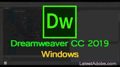 Adobe Dreamweaver CC 2019 download