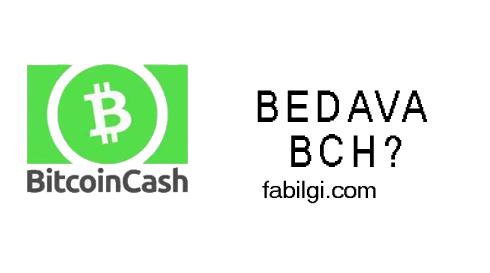Bedava Bitcoin Cash (BCH) Kazanma Yöntemi Yeni Site 2021
