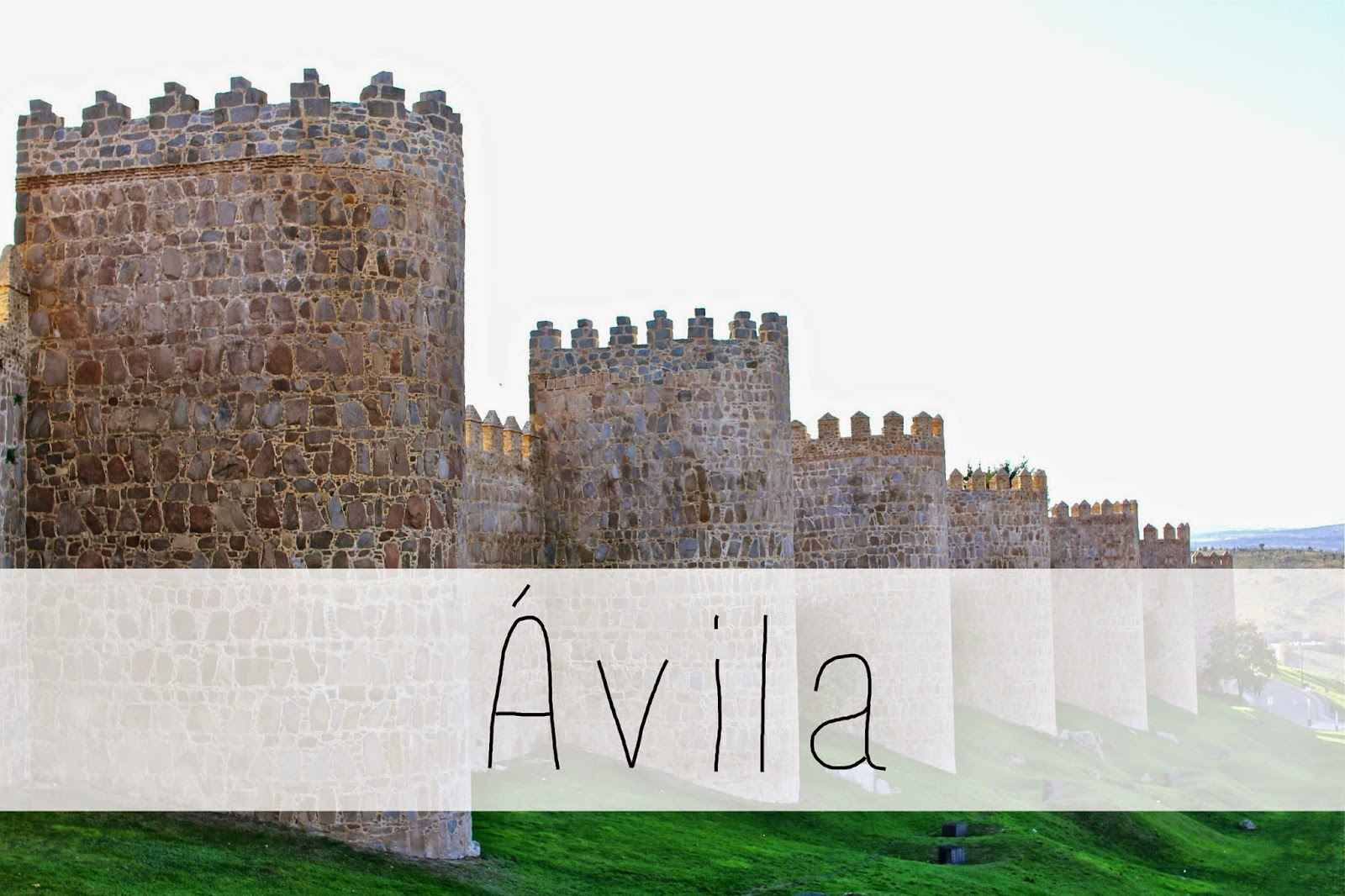 Ávila: 5 best day trips from Madrid - all less than 2 hours away from the city center! | adelanteblog.com