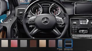 Nội thất Mercedes AMG G63 2016 màu Xám Leather ZN9