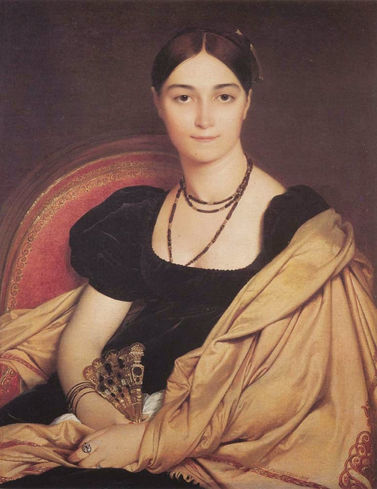 Madame Duvaucey - Ingres e suas principas pinturas ~ Neoclassicismo