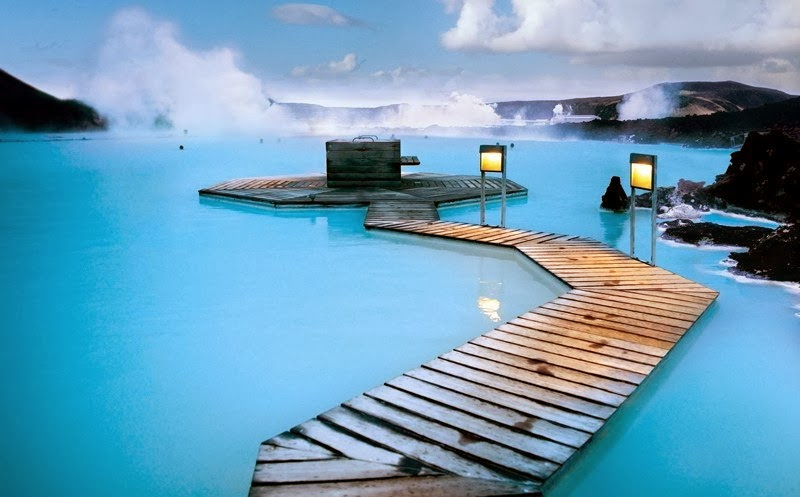 СПА-центр Голубая Лагуна исландия