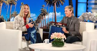 Margot Spills The Hilarious Tea-Hehe On Ellen!