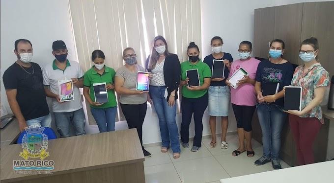 Agentes Comunitários de Saúde recebem Tablet para facilitar atendimento