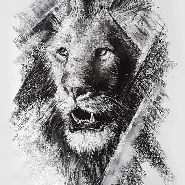 03-Lion-Natalya-Bassani-www-designstack-co