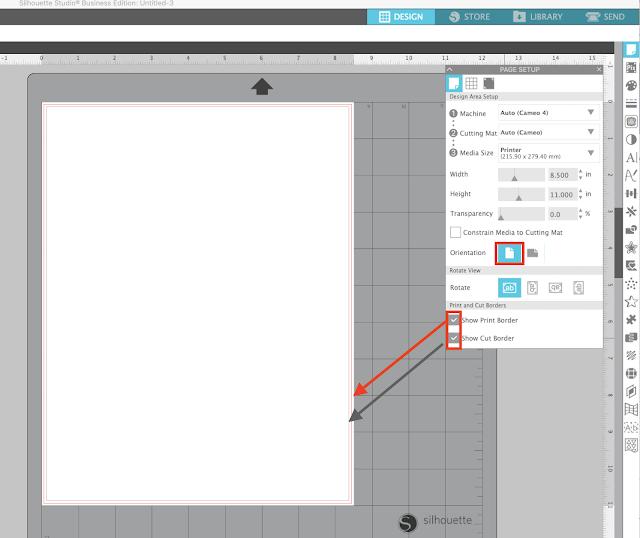 cameo 4, print and cut, silhouette studio v4, beginner tutorial, silhouette cameo print and cut