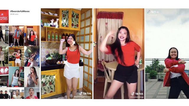 #SwanderfulMoves Dance Challenge