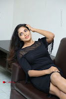 Telugu Actress Karunya Chowdary Latest Stills in Black Short Dress at Edo Prema Lokam Audio Launch .COM 0158.JPG