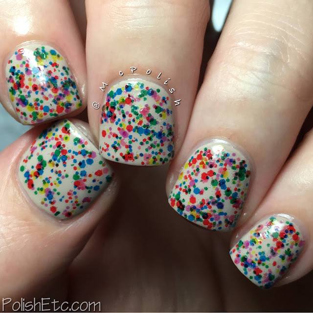 Nine Zero Lacquer - ROY G BIV Collection - McPolish - Kaleidoscope