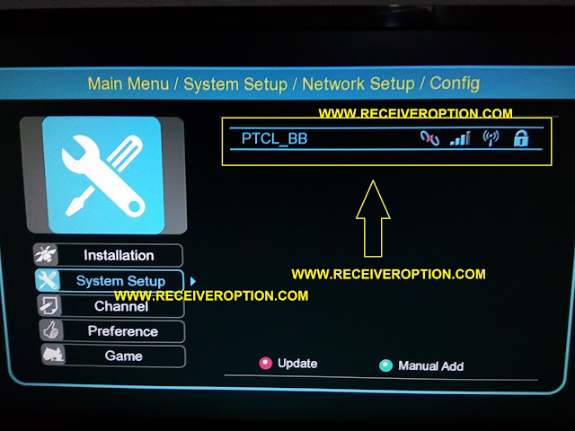 HOW TO CONNECT WIFI IN ECHOLINK 770D HD RECEIVER