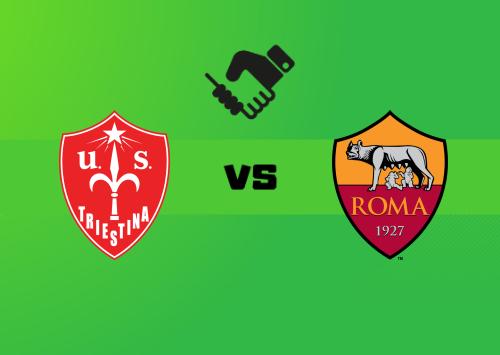 Triestina vs Roma  Resumen